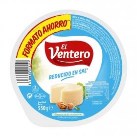 Queso bajo en sal El Ventero 550 g