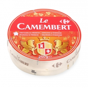 Queso camembert cremoso Carrefour 250 g