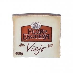 Queso puro de oveja viejo graso Flor de Esgueva cuña 400 g