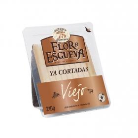 Queso puro de oveja viejo graso Flor de Esgueva tapas maestras ya cortado 210 g