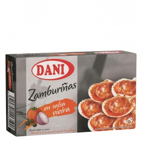 Zamburiñas en salsa de vieira Dani 63 g.