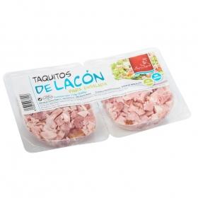 Lacón para ensaladas en taquitos El charcutero sin gluten sin lactosa pack de 2 unidades de 55 g.