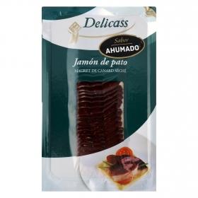 Jamón de pato sabor ahumado Delicass 50 g.