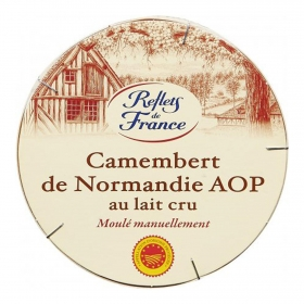 Queso camembert de Normandie  Reflets de France  pieza 250 g