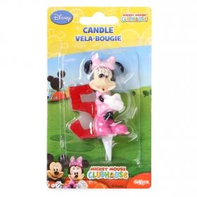 Vela nº 5 Minnie Mouse Dekora