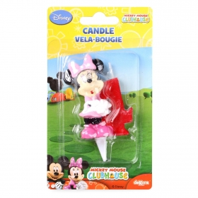 Vela nº 4 Minnie Mouse Dekora