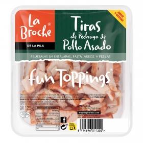 Tiras de pollo La Broche 100 g.