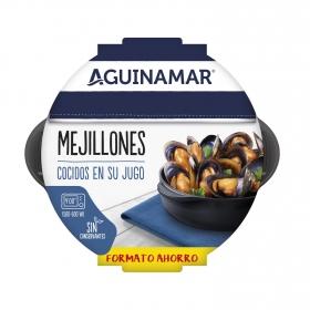 Mejillón cocido en su jugo Aguinamar 900 g
