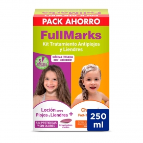 Loción antipiojos + champú Fullmarks 1 ud.