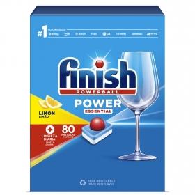 Lavavajillas máquina Todo en 1 aroma limón en pastillas Finish 86 ud.