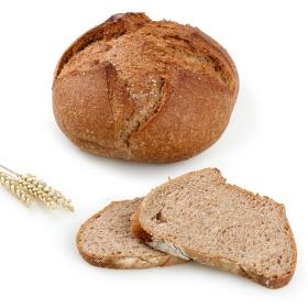Hogaza de pan integral 100% Hecho aquí Carrefour 400 g