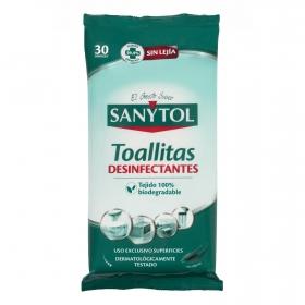 Toallitas multiusos desinfectantes Sanytol 24 ud.