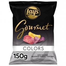 Patatas fritas Colors gourmet Lay's 150 g.