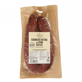 Chorizo de léon De Nuestra Tierra 450 g.