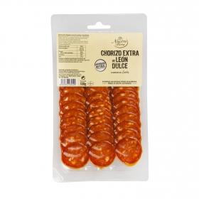 Chorizo de león dulce De Nuestra Tierra 100 g.