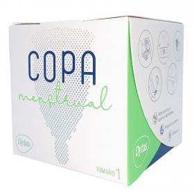 Copa menstrual tamaño 1 reutilizable ecológica Dytas 1 ud.