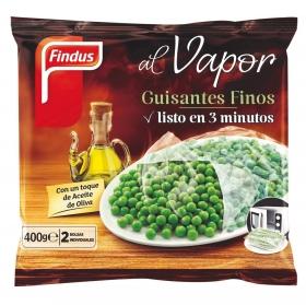 Guisantes finos al vapor Findus 400 g.