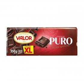 Chocolate puro XL Valor sin gluten 350 g.