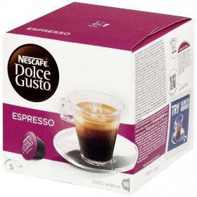 Café espresso en cápsulas Nescafé Dolce Gusto 16 unidades de 6 g.