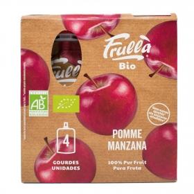 Puré de manzana ecológico Natura Nuova 4 ud.