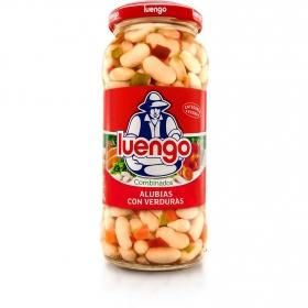 Alubia con verduras Luengo 400 g.