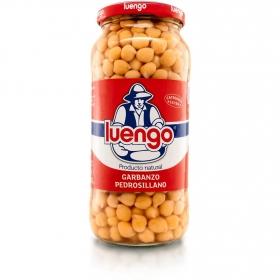 Garbanzo pedrosillano cocido categoría extra Luengo 400 g.