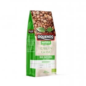Café grano natural arábica ecológico Oquendo 250 g.