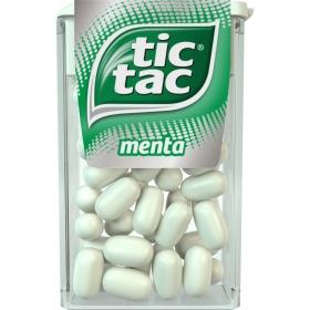 Caramelos sabor menta Tic Tac 18 g.