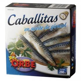 Filetes de caballa Orbe 266 g.
