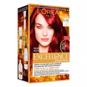 Tinte intense nº 6.66 Rojo Escarlata Intenso L'Oréal 1 ud.