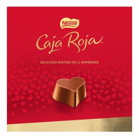 Bombones surtidos de chocolate Nestlé Caja Roja 11 ud.