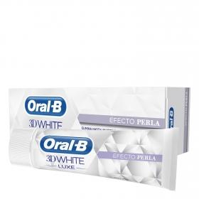 Dentífrico 3D White Luxe efecto perla Oral-B 75 ml.