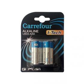 Pack de 6 Pilas Alcalinas  I-Tech Carrefour Lr03 (Aaa)