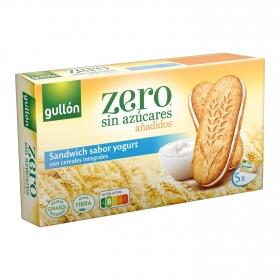 Galletas con cereales integrales y yogur sin azúcares añadidos Diet Nature Gullón 220 g.