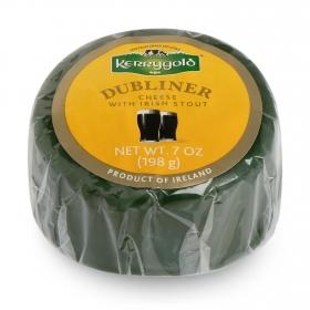 Queso cheddar blanco curado dubliner a la cerveza negra Kerrygold 200 g