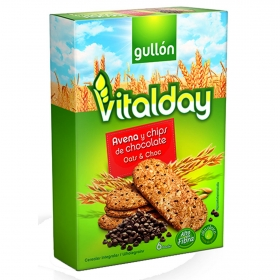 Galletas de avena y chocolate Gullón 240 g.