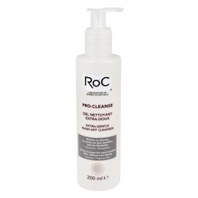 Gel desmaquillante suave Pro-Cleanse Roc 200 ml.