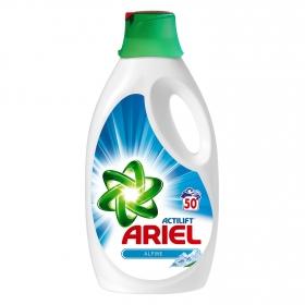 Detergente líquido Alpine Ariel 50 lavados.