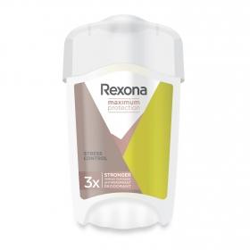 Desodorante en crema máxima protección antitranspirante Rexona 45 ml.