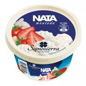 Nata montada congelada Somosierra 240 g.