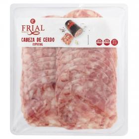 Cabeza de cerdo loncheada Embutidos Frial 260 g