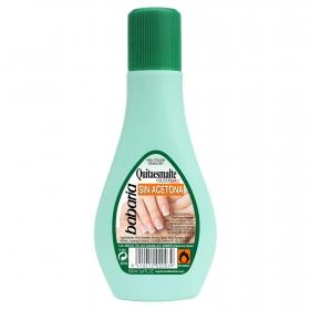 Quitaesmaltes sin acetona Babaria 100 ml.