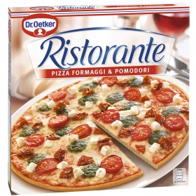 Pizza formaggi y pomodori Ristorante Dr. Oetker 360 g.