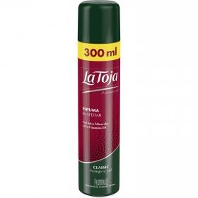 Espuma de afeitar clásica La Toja 300 ml.