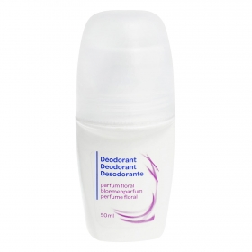 Desodorante roll-on perfume floral 50 ml.