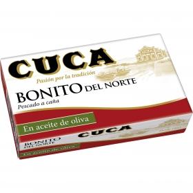 Bonito del norte en aceite de oliva Cuca sin gluten y sin lactosa 82 g.