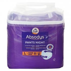 Pants de noche talla grande Absodys Carrefour 14 ud.