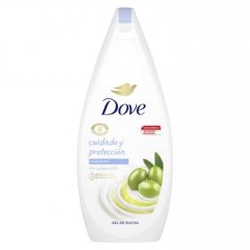 Gel de ducha nutritivo Cuidado y Protección piel seca Dove 750 ml.