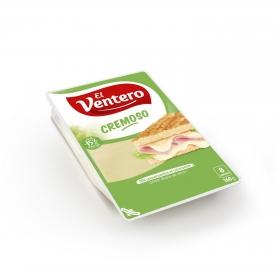 Queso tierno y cremoso en lonchas El Ventero 160 g.