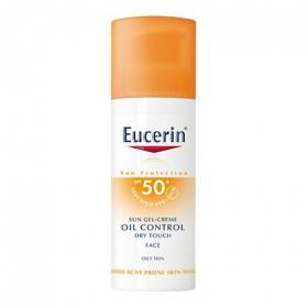 Gel-crema solar Oil Control Dry Touch FP 50+ Eucerin 50 ml.
